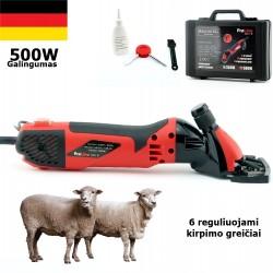 Avių vilnos kirpimo mašinėlė Brosberg ProLine 500W