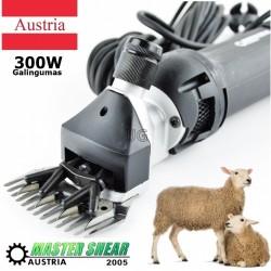 Avių vilnos kirpimo mašinėlė 300W Master Shear Austria