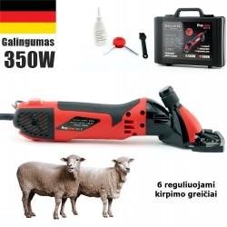 Avių vilnos kirpimo mašinėlė Brosberg ProLine 350W